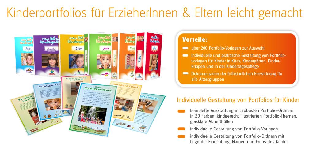 Onlineshop für Kindergarten Ordner und Kindergarten Portfolio Vorlagen