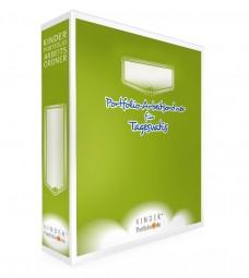 Portfolio-Arbeitsordner für Tagesvatis mit 140 Portfolio-Vorlagen – Deutsch