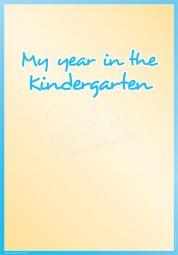 Mein Kindergartenjahr - Portfoliovorlage in Englisch