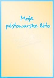 Mein Kindergartenjahr - Portfoliovorlage in Sorbisch