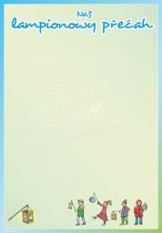 Unser Lampionumzug - Portfoliovorlage in Sorbisch