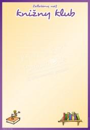 Wir gründen unseren Buchclub - Portfoliovorlage in Sorbisch