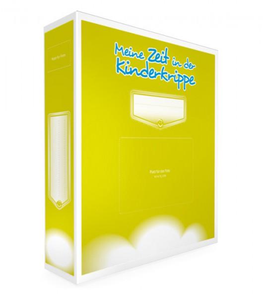 kinderkrippe portfolio ordner farbe pistazie layout 2. Black Bedroom Furniture Sets. Home Design Ideas