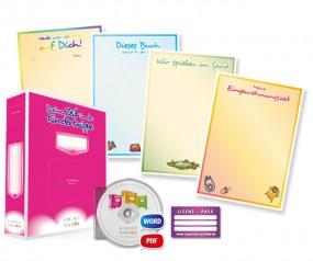 Portfolio-Lizenzpaket für Kinderkrippen (mit Arbeitsordner) - Deutsch