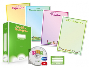 Portfolio-Lizenzpaket für Erzieherinnen und Erzieher (mit Arbeitsordner) - Deutsch, Einzellizenz