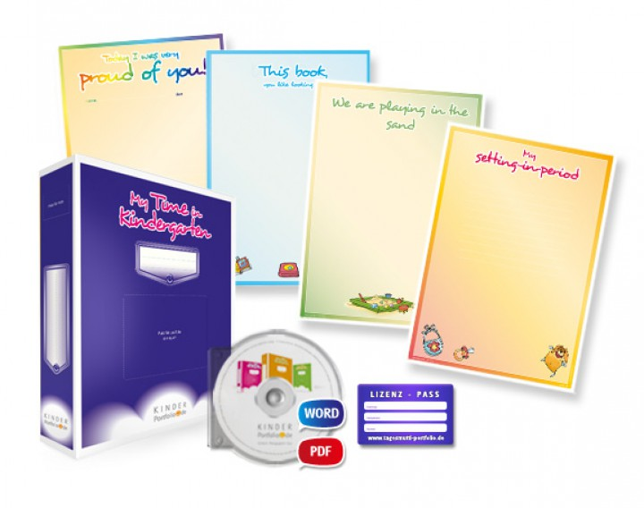 Portfolio-Lizenzpaket für bilinguale Kita´s und Kindergärten mit je ...