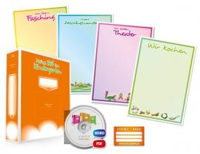 Portfolio-Lizenzpaket für Kita's und Kindergärten (mit Arbeitsordner) - Deutsch, Einrichtungslizenz