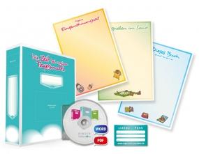 Portfolio-Lizenzpaket für Tagesmuttis und Tagesvatis (mit Arbeitsordner) - Deutsch