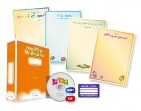Lizenz für bilinguale Kindergärten in Englisch + Deutsch (Bundle + Arbeitsordner in Deutsch)