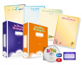 Lizenz für bilinguale Kindergärten in Englisch + Deutsch (Bundle + Arbeitsordner Englisch/Deutsch)