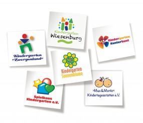 Logo-Gestaltung für Kitas, Kindergärten Kinderkrippen, Tagesmuttis und -vatis
