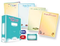 Tagespflege Lizenzpaket 150 Portfoliovorlagen